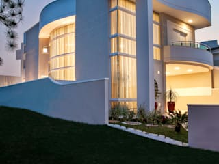 Modern houses by Arquiteto Aquiles Nícolas Kílaris Modern Concrete