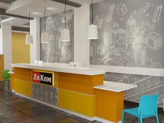 Minimalistische Geschäftsräume & Stores von Design interior OLGA MUDRYAKOVA Minimalistisch