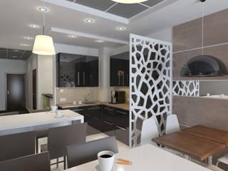 Minimalistische Hotels von Design interior OLGA MUDRYAKOVA Minimalistisch