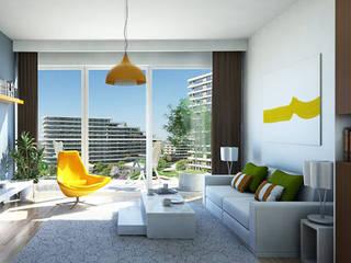 CCT INVESTMENTS – Interior Designs :  tarz Oturma Odası,