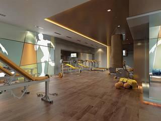 CCT INVESTMENTS – Interior Designs :  tarz Fitness Odası