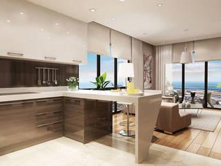 Modern kitchen by CCT INVESTMENTS Modern