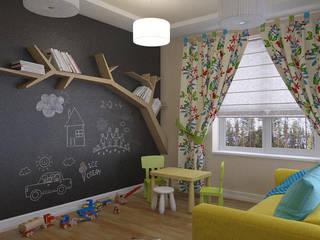 Kinderkamer door Design interior OLGA MUDRYAKOVA