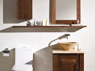 Stonearth - Walnut Modern style bathrooms by Stonearth Interiors Ltd Modern