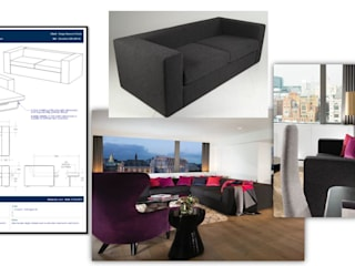 Commercial Project 10: modern  by Ben Whistler Bespoke Furniture, London, Modern
