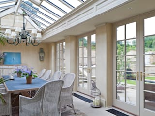 Impressive Twin Classical Orangeries Konservatori Klasik Oleh Vale Garden Houses Klasik