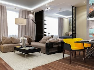 Minimalist living room by INTERIERIUM Minimalist