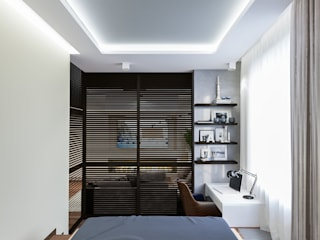 Bedroom by INTERIERIUM, Minimalist