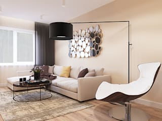 Modern living room by INTERIERIUM Modern