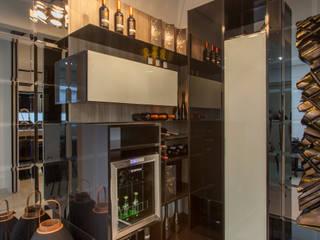 Studio² Wine cellar Engineered Wood Black