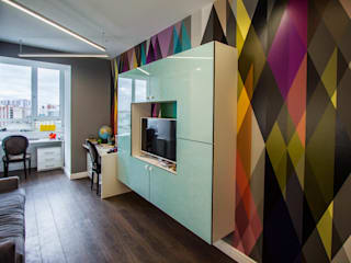 Minimalist nursery/kids room by Design interior OLGA MUDRYAKOVA Minimalist