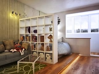 Scandinavian style living room by Pure Design Scandinavian