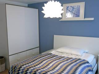 Apartment S01 in Stuttgart Holzer & Friedrich GbR Moderne Schlafzimmer