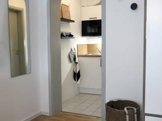 Apartment S01 in Stuttgart Holzer & Friedrich GbR Moderne Küchen