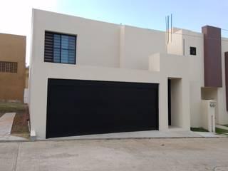 Casas minimalistas por Constructora e Inmobiliaria Catarsis Minimalista Tijolo