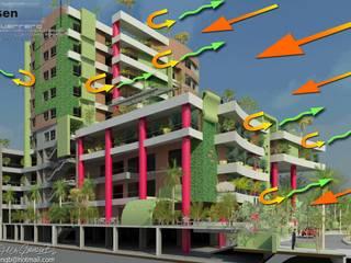 Anteproyecto CCP Cabriales. 2013 Casas modernas de Eisen Arquitecto Moderno