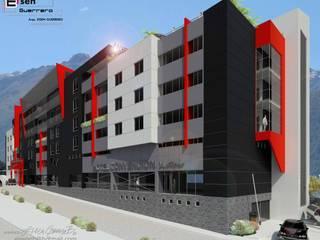 Hotel Convention boutique. 2013 Casas de estilo escandinavo de Eisen Arquitecto Escandinavo