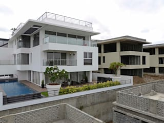 THE RIDGES - A3 VILLA Modern houses by Aijaz Hakim Architect [AHA] Modern