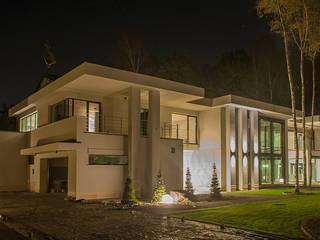 LK&1048: styl , w kategorii Domy zaprojektowany przez LK & Projekt Sp. z o.o.,