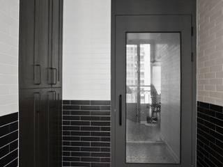 노은동 열매마을 9단지 115 M2: 도노 디자인 스튜디오의  복도 & 현관
