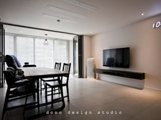 노은동 열매마을 9단지 115 M2: 도노 디자인 스튜디오의  다이닝 룸
