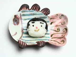 子供も大人も楽しむ やきもの世界: basement わんしゃ窯が手掛けたアジア人です。,和風