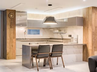 Dining room by 아르떼 인테리어 디자인, Modern