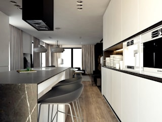Modern kitchen by A2.STUDIO PRACOWNIA ARCHITEKTURY Modern