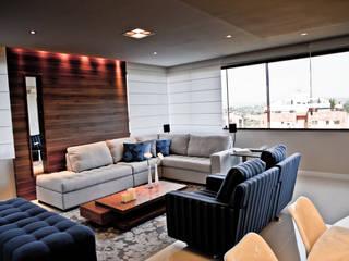 Estar e Jantar Contemporâneo Salas de estar modernas por Studio Arquitetura Moderno