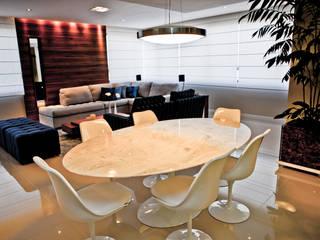 Estar e Jantar Contemporâneo Salas de jantar modernas por Studio Arquitetura Moderno