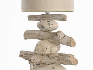 Portacandele e Lampade di Viviano Biagioni Rustico Legno Effetto legno
