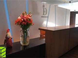 Oficinas City Angelopolis:  de estilo  por Beta Factoria de Puebla SA de CV