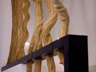 Realizzazioni: Ingresso & Corridoio in stile  di TIXA studio associato di ingegneria e architettura