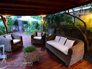 Jardines de estilo  de architetto raffaele caruso,