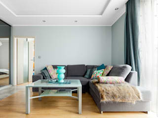 Pracownia Architektury Wnętrz Decoroom Modern living room