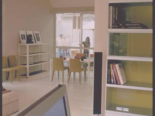Casa prefabbricata BH1: Soggiorno in stile  di Benedini & Partners