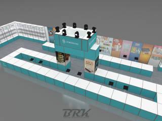 de estilo industrial por BRK İnterior Design, Industrial