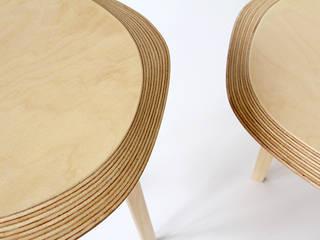 Tables basses Archipel:  de style  par Jean-Baptiste Ricatte Designer