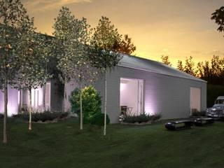 Casa prefabbricata BH3: Case in stile  di Benedini & Partners