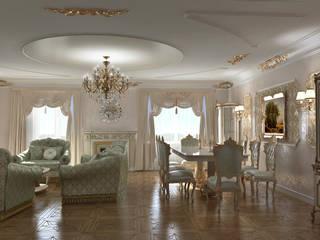 homify Ruang Keluarga Klasik Beige