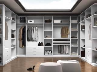 Vestidor moderno: Vestidores de estilo  de TC interior