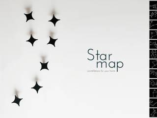 Strar Map krayms A&D - Fa&Fra CasaAccessori & Decorazioni Metallo Nero