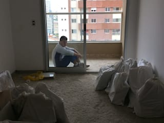 Reforma em apartamento - Águas Claras por Amanda Beatriz Arquitetura e Interiores
