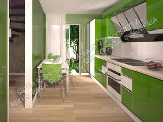 INFOGRAFÍAS Cocinas de estilo moderno de Silvia Rodriguez Ramajo Moderno