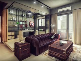 Erhan 3D Works – Hong's House: modern tarz , Modern