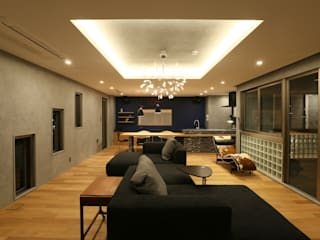 Living room by 株式会社CAPD