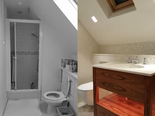 Three Bathroom Renovations For Family Home Modern bathroom by Design Republic Limited Modern