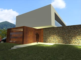 House in Lustosa Casas modernas por MO architect Moderno