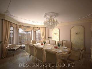 Dining room by Дизайн Студия Леоновой Натали