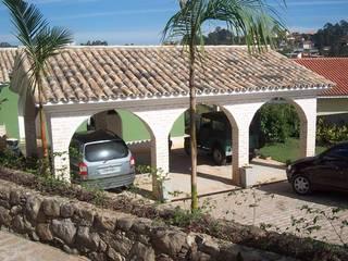 Garajes de estilo rural de ALVO ARQUITETURA Rural